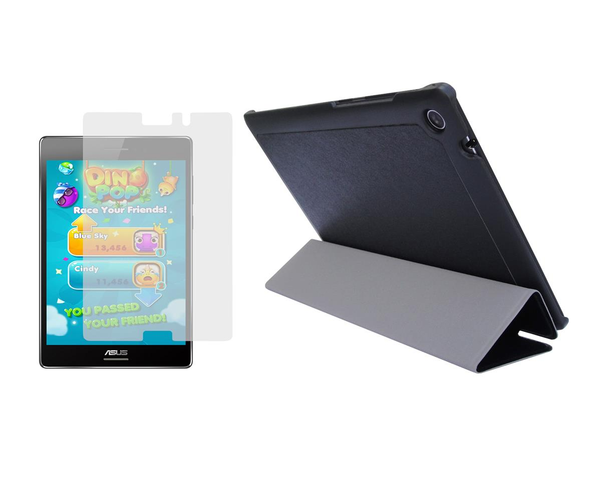 Slim Folio Skin Cover Case + Screen Protector for ASUS ...