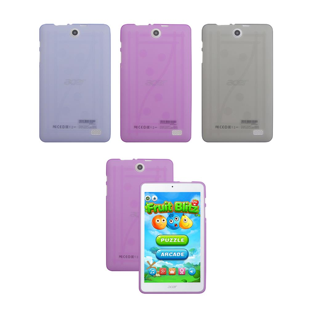 for Acer Iconia One 8 B1-850 Tablet TPU Gel Shell Skin ...