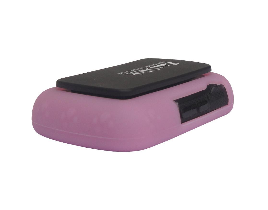 for sandisk sansa clip sport plus sdmx28 soft rubber skin cover case light pink ebay. Black Bedroom Furniture Sets. Home Design Ideas