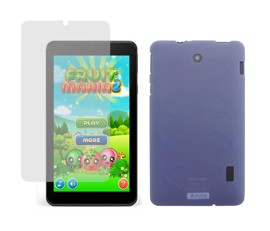 TPU Case and Screen Protector for Barnes & Noble Nook ...