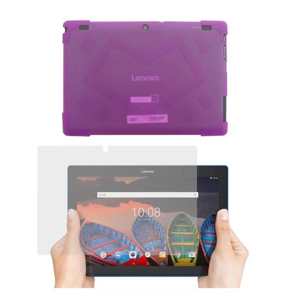 tpu case screen protector for lenovo tab 10 1 tb x103f tablet 2016 release ebay. Black Bedroom Furniture Sets. Home Design Ideas