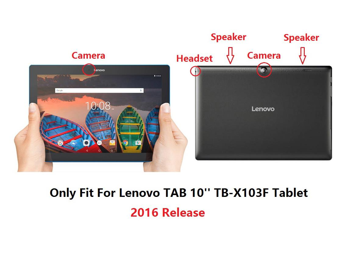 protective tpu cover case for lenovo tab 10 10 tb x103f tablet 2016 release ebay. Black Bedroom Furniture Sets. Home Design Ideas