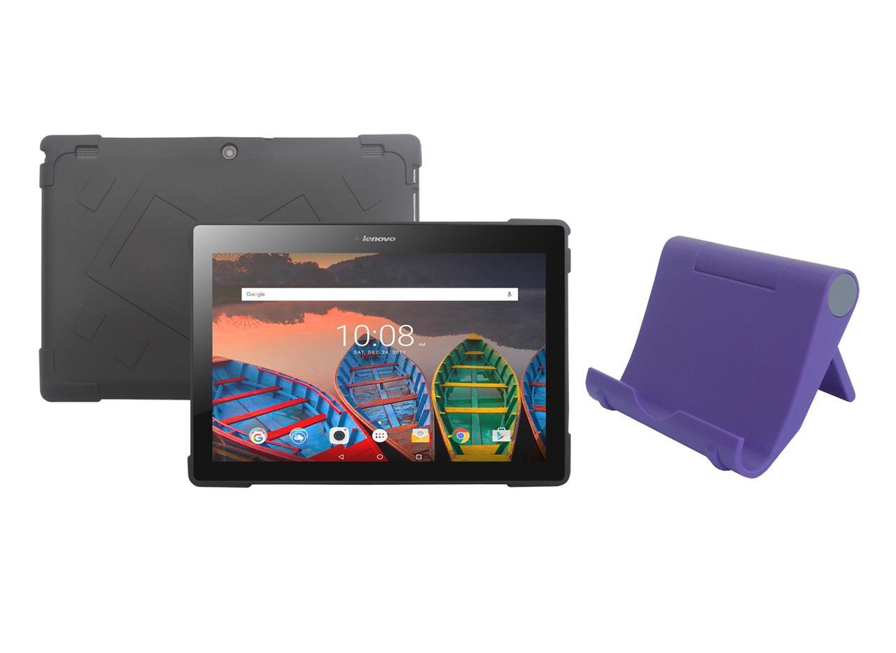 tpu case tablet stand holder for lenovo tab 10 1 tb x103f tablet 2016 release ebay. Black Bedroom Furniture Sets. Home Design Ideas