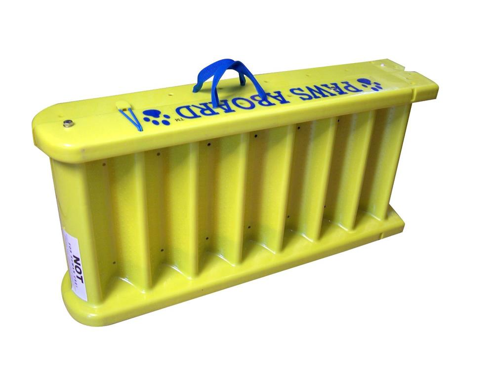 Paws Aboard Dog Boat Ladder Slip Resistant Portable Doggy