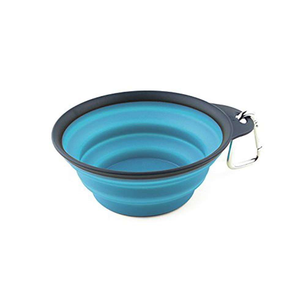 Water Rover Portable Pet Bowl: New Collapsible Dog Water Travel Bowl Portable Pet Dish W