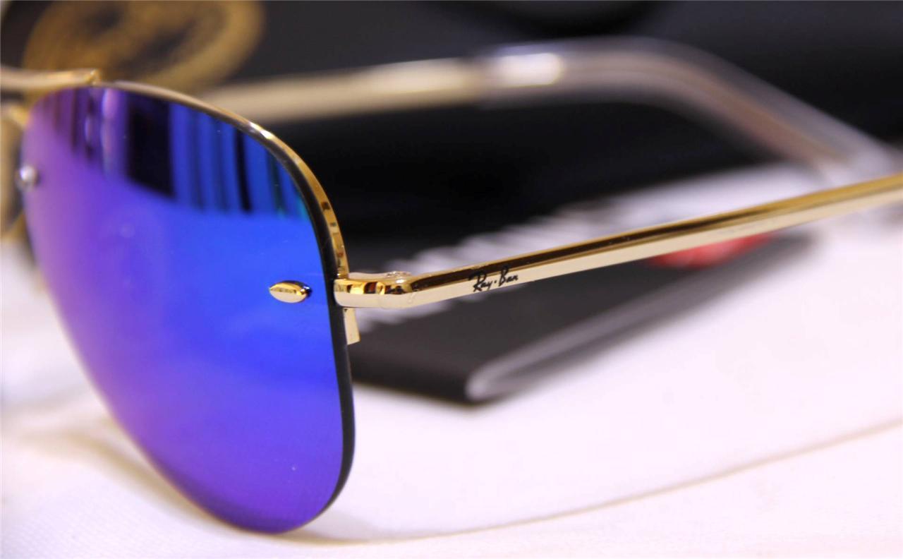 Hermosa Aviadores Ray Ban Marco Azul Regalo - Ideas Personalizadas ...