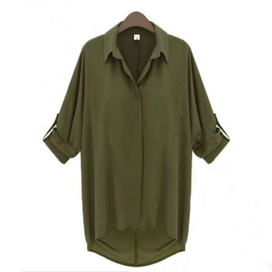 Long Sleeve Blouse Ebay 72