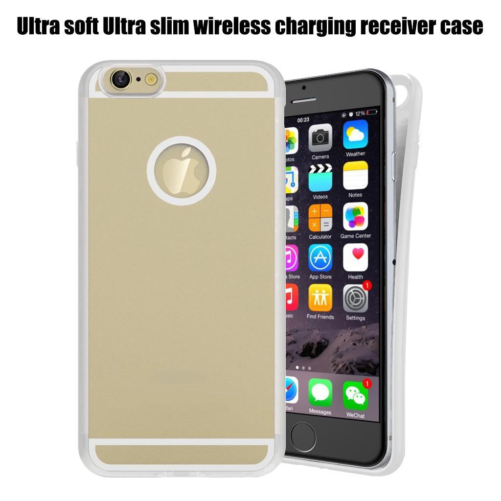 qi wireless charging receiver skin slim back case cover. Black Bedroom Furniture Sets. Home Design Ideas