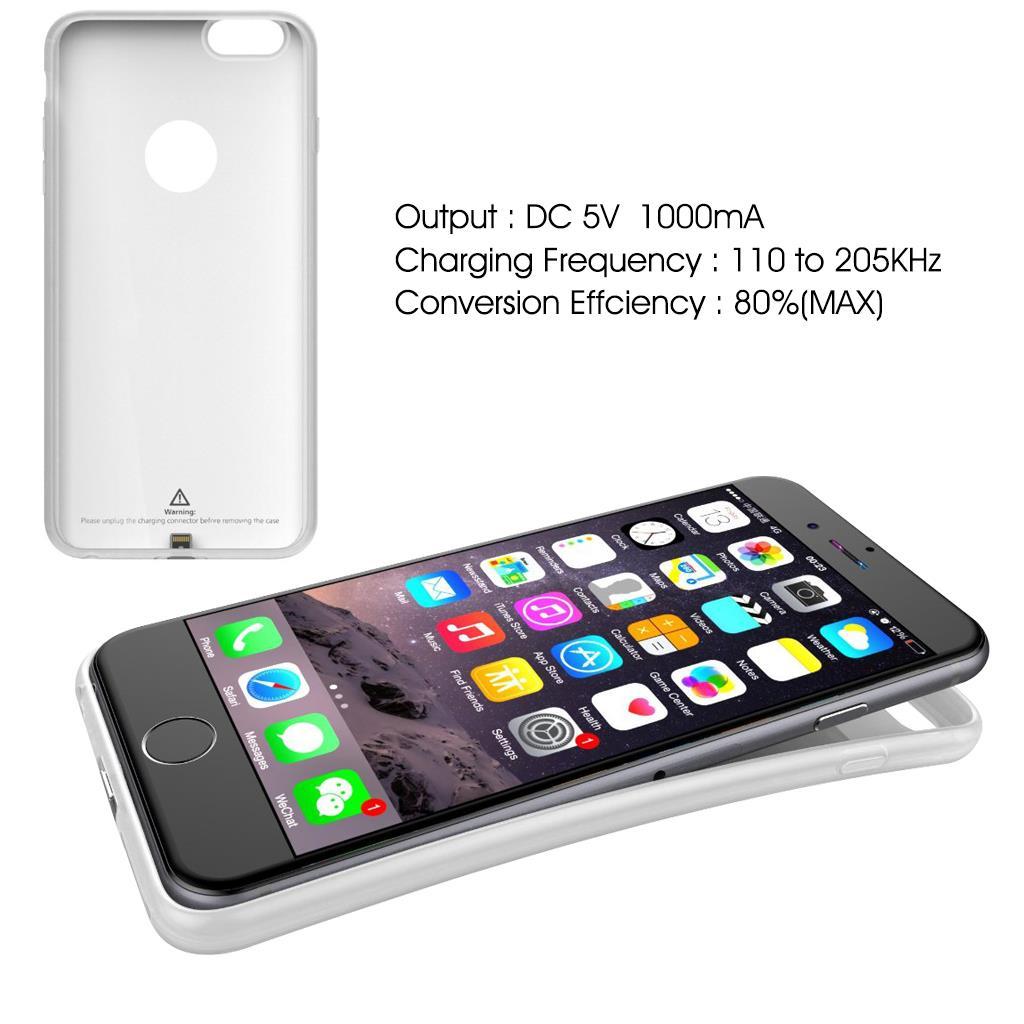 new qi standard wireless charging receiver back case cover. Black Bedroom Furniture Sets. Home Design Ideas