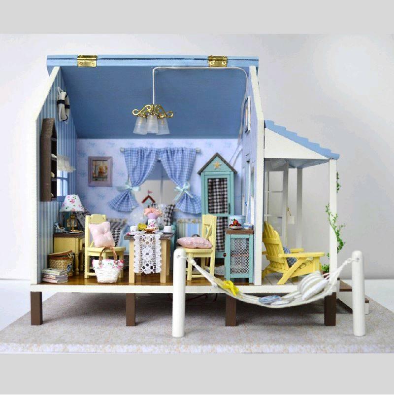 Bricolaje artesan a miniatura proyectos led casa de - Bricolaje para casa ...