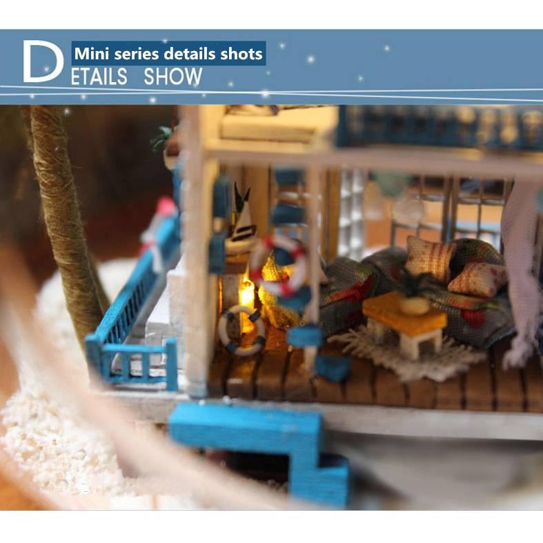 Diy handgefertigte miniatur projekt set puppen haus der for Puppenhaus beleuchtung set