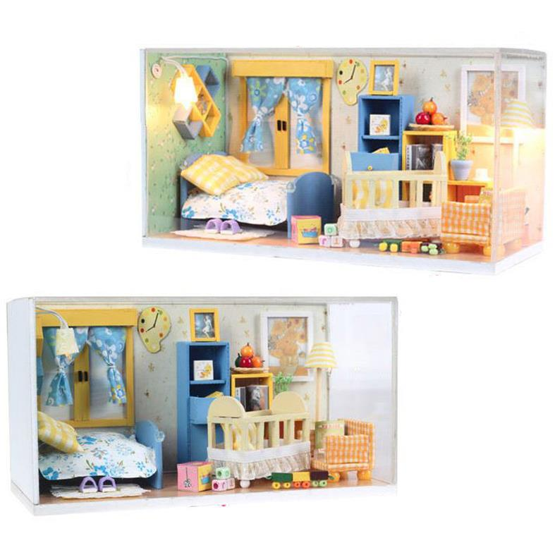 Do it yourself artisanat miniature projet kit my baby for Chambre artisanat
