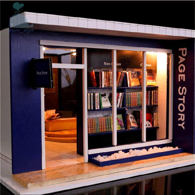 DO IT YOURSELF Artisanat Miniature Projet Kit En bois Maison De Poupées Ma Lo