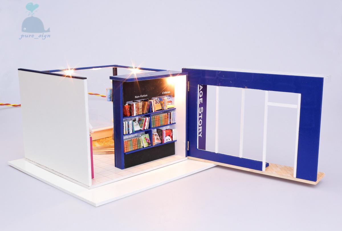 do it yourself artisanat miniature projet kit en bois maison de poup 233 es ma local ebay