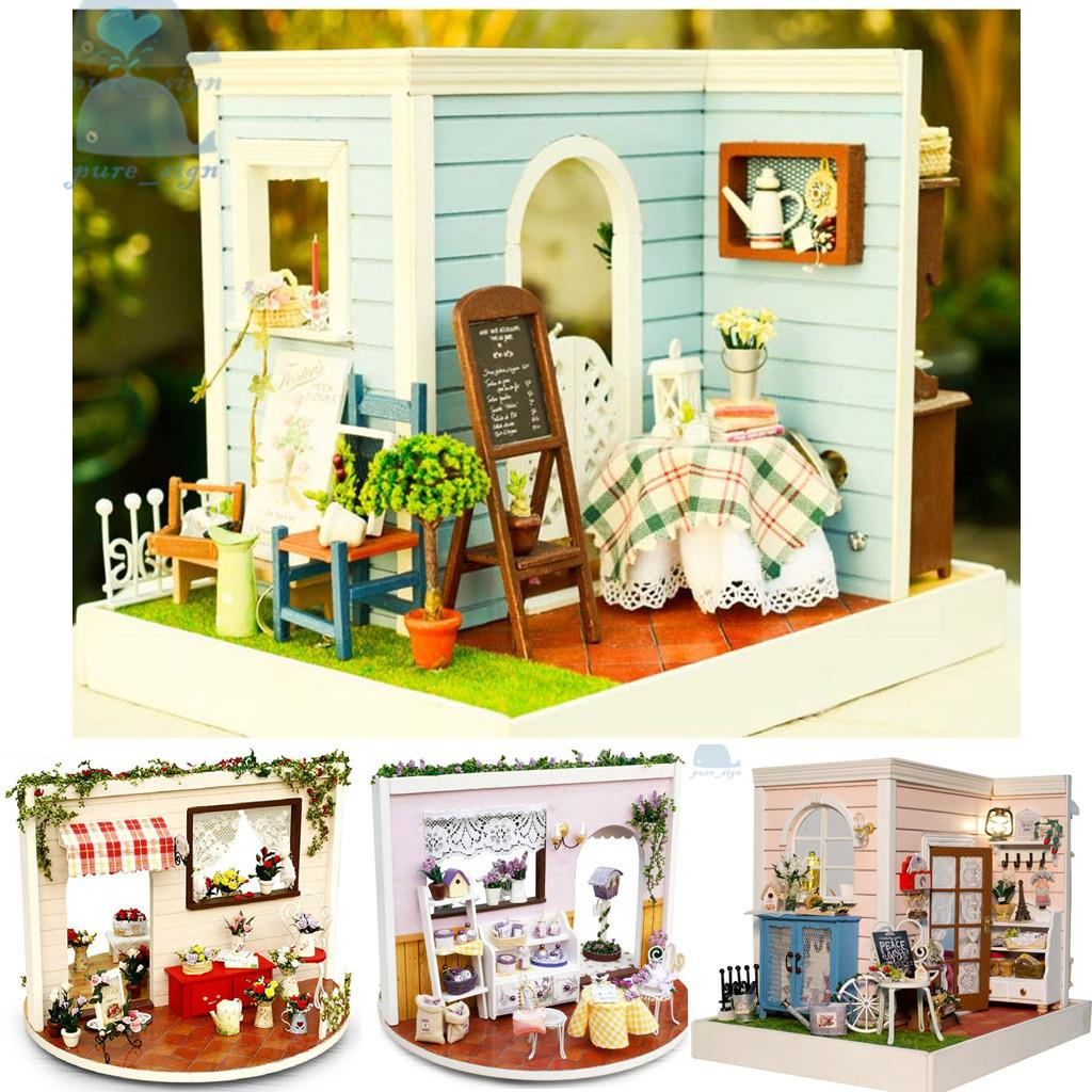 Diy handcraft miniature project kit the country houses in for Bedroom nothing lasts chords