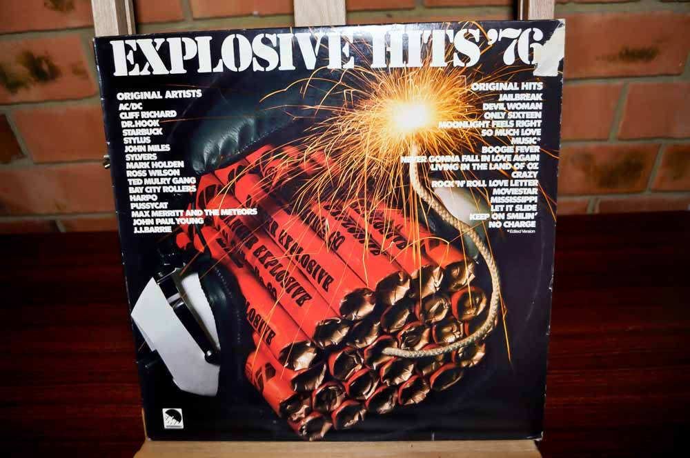 Explosive-Hits-76-Various-Artists-1976-LP-Vinyl-Record-Various-Artists-AC-DC