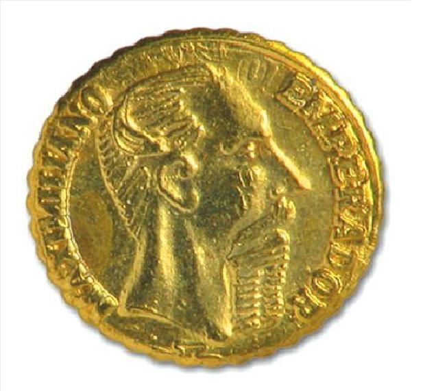 imperio mexicano coin
