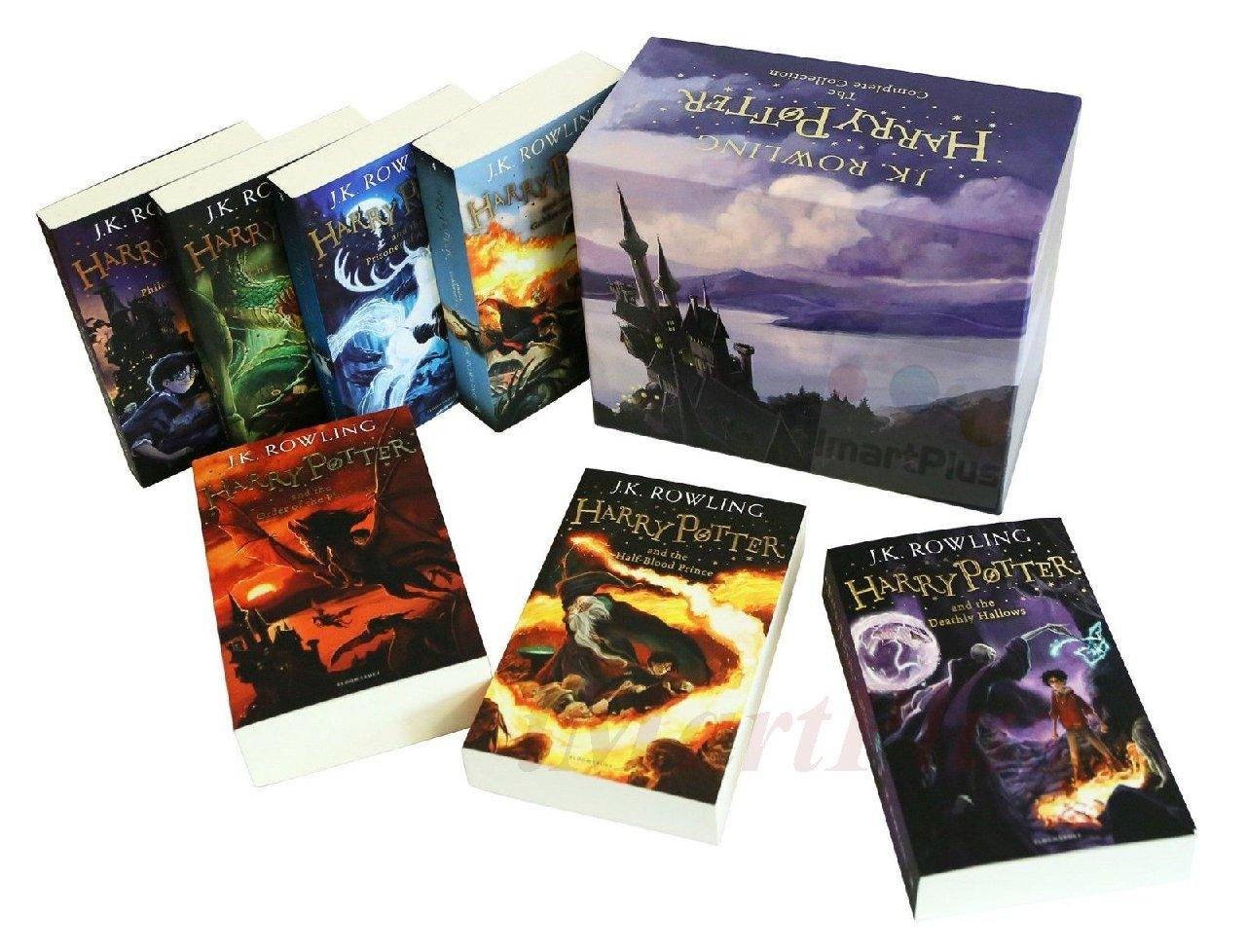 Harry Potter Book Collection : Harry potter books complete collection paperback boxed