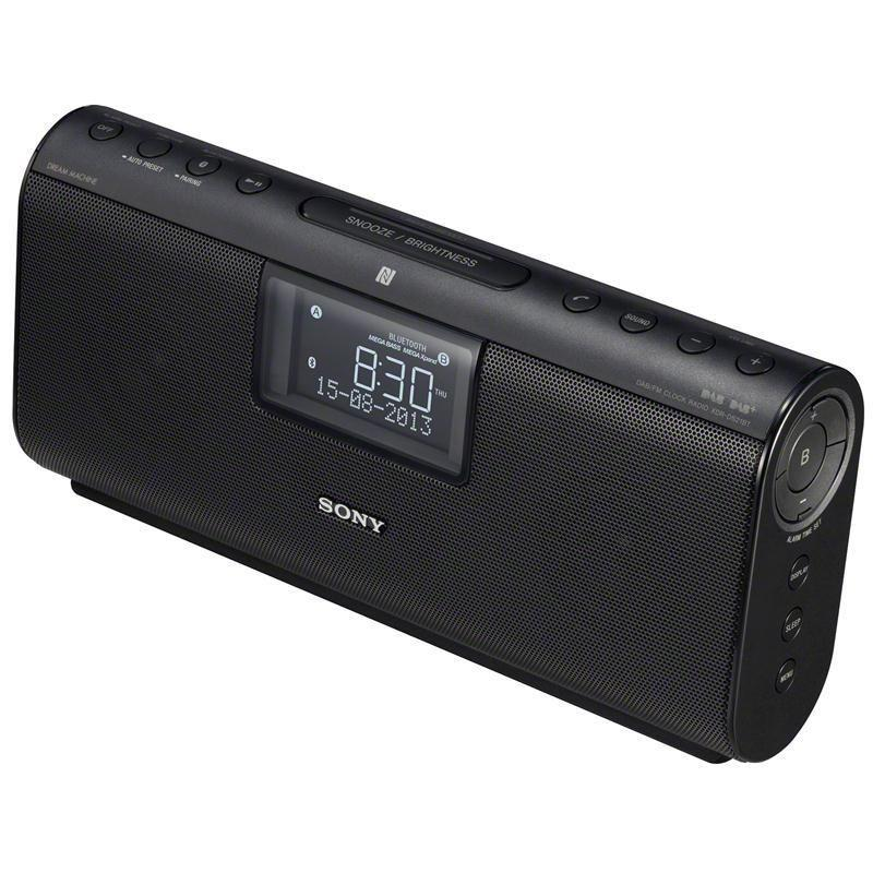 sony xdr ds21bt bluetooth wireless nfc speaker dab dab fm radio alarm clock ebay. Black Bedroom Furniture Sets. Home Design Ideas