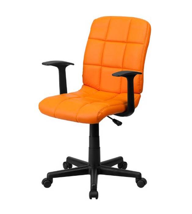 Best task chair quilted office swivel arms hot cols games Desk chairs for teens