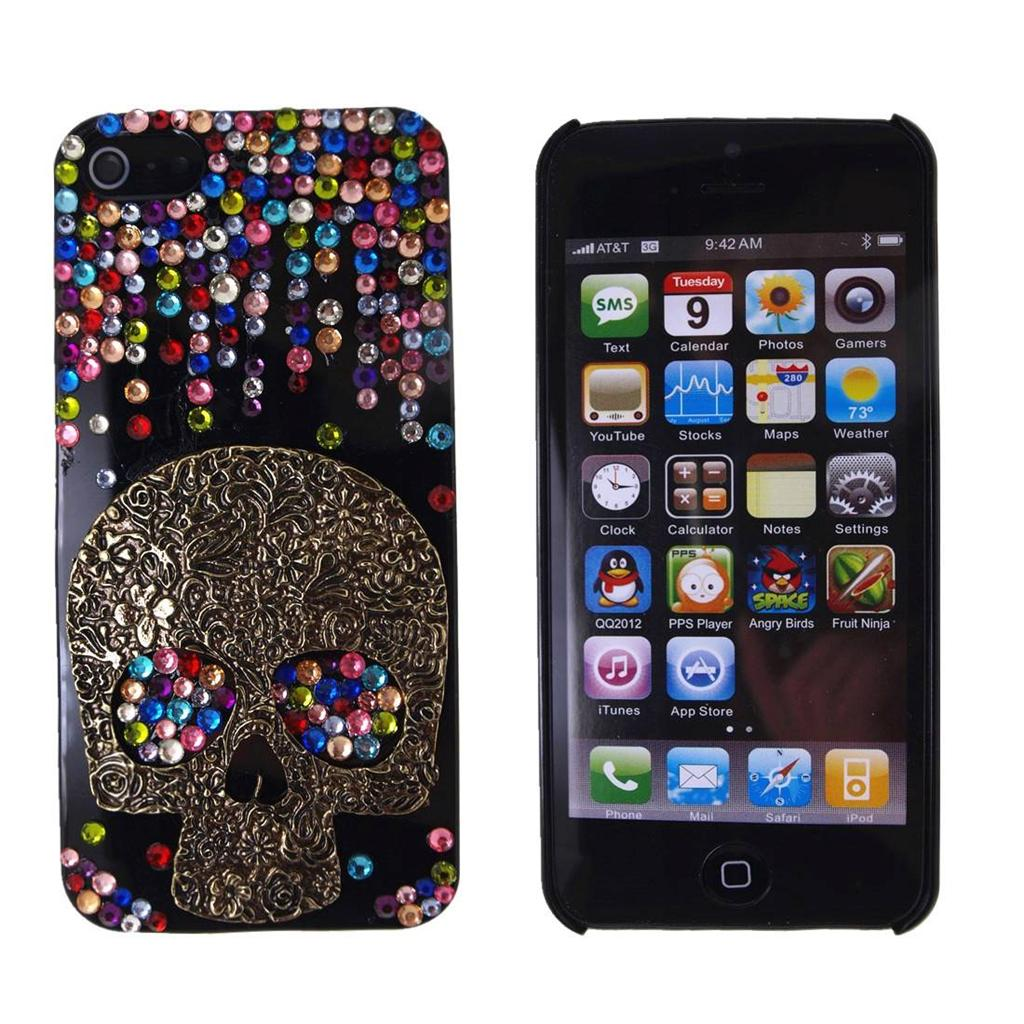 iphone 5 5s case 3d bling crystal hard case cover for. Black Bedroom Furniture Sets. Home Design Ideas