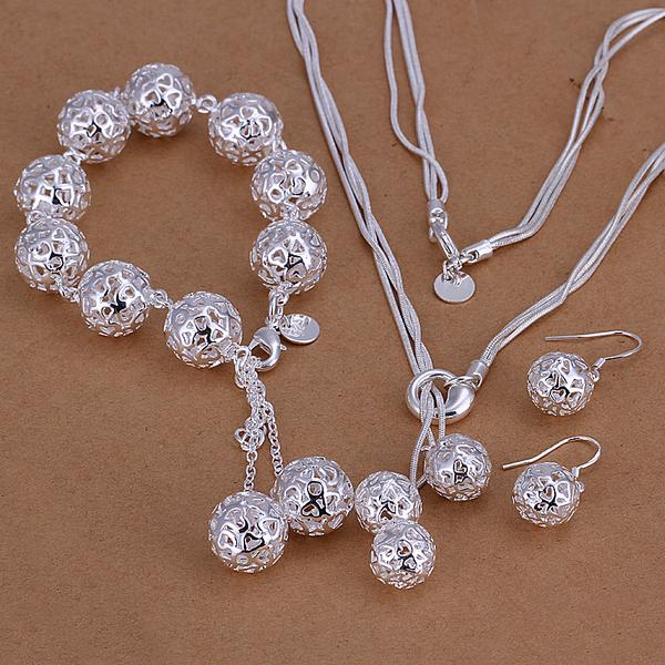 WHOLESALE 50 FASHION STYLE CLASSIC 925 STERLING SILVER FILLED JEWELRY SET