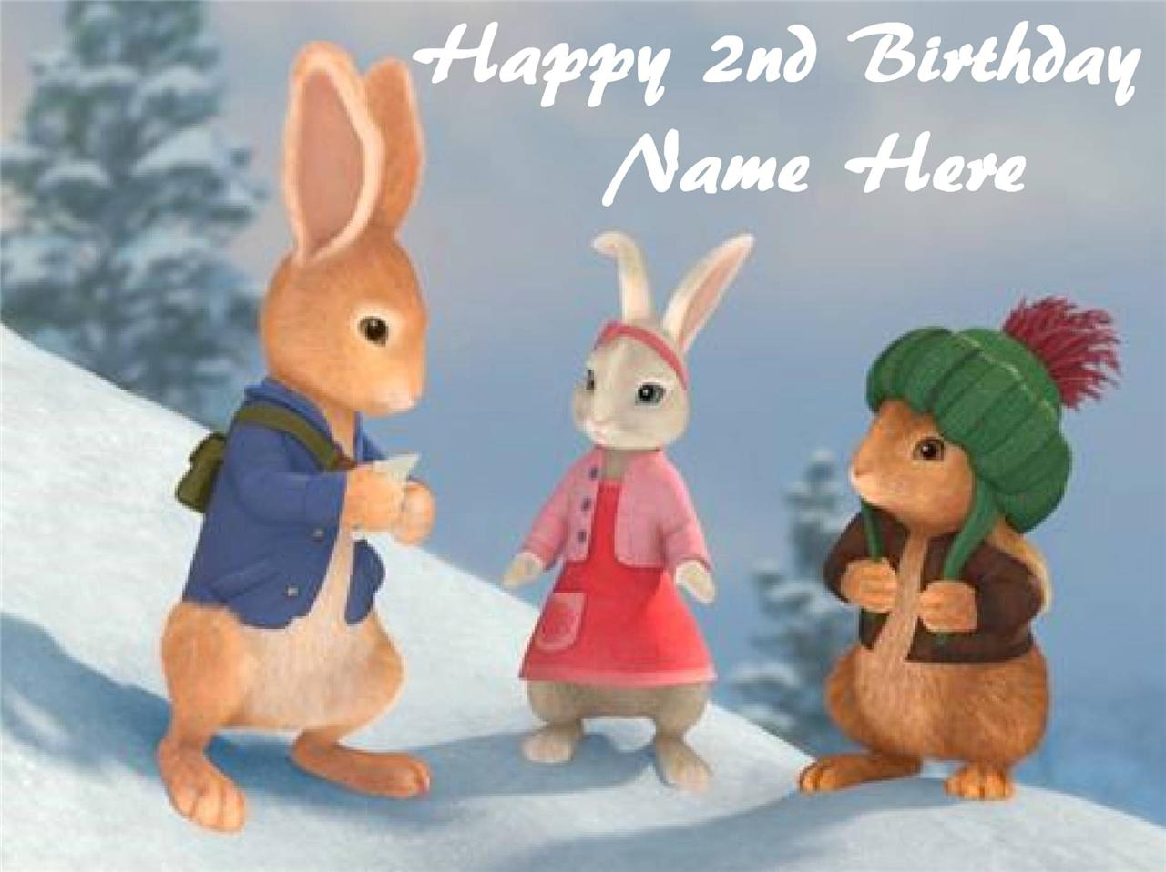 Peter Rabbit Edible Cake Toppers