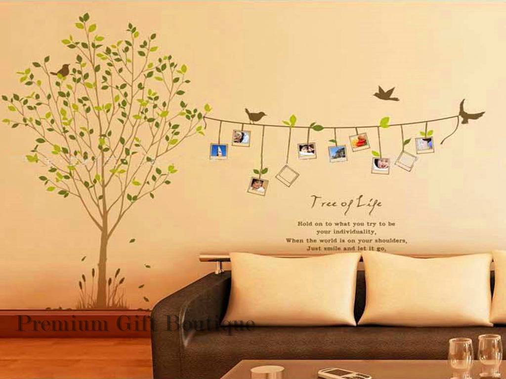 Tree Of Life Quotes Wall Stickers Removable DIY Decal Home