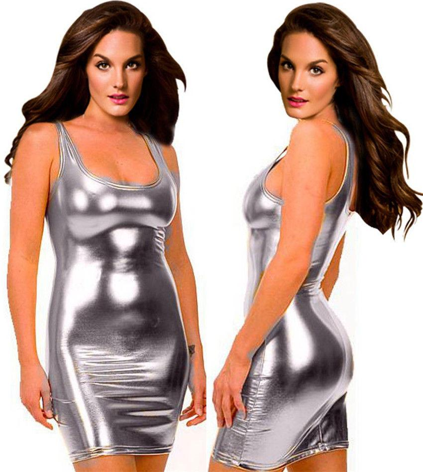 Image result for dress metallic pu