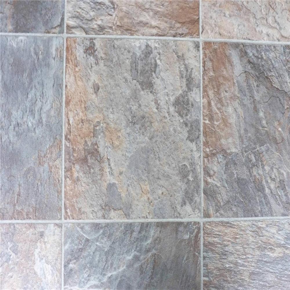 Non slip slate floor tiles