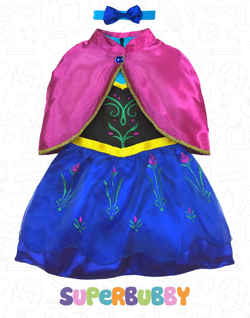 Baby Girls Frozen Princess Elsa Anna Costume Tutu Fancy  sc 1 st  Meningrey & Frozen Anna Costume For Baby - Meningrey