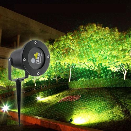 suny outdoor blue green firefly laser project garden