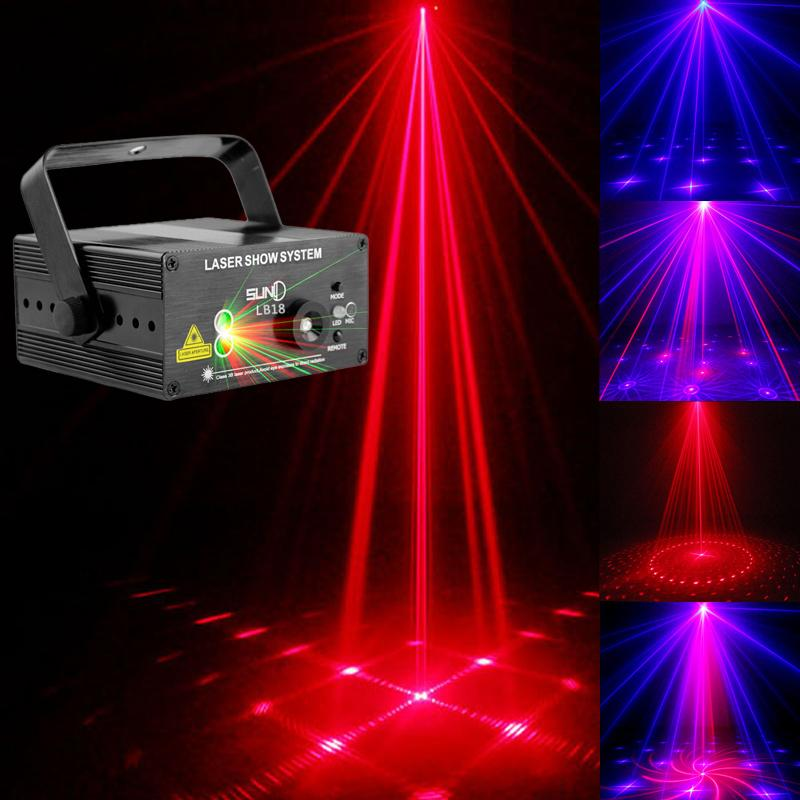 mini led stage br laser projektor beleuchtung 18 patterns f r disco party dj deu ebay. Black Bedroom Furniture Sets. Home Design Ideas