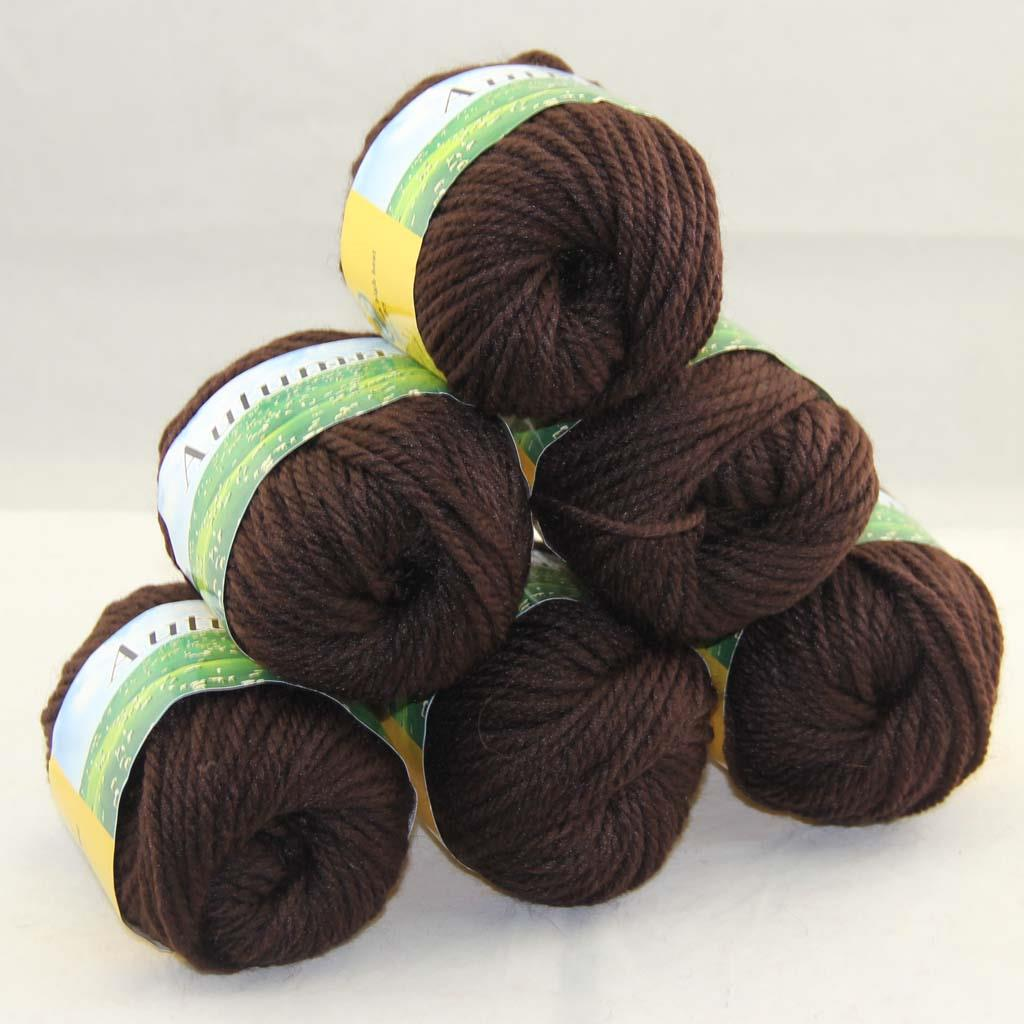 Hand Knitting Yarn : Sale lot of balls gr worsted chunky soft warm wool