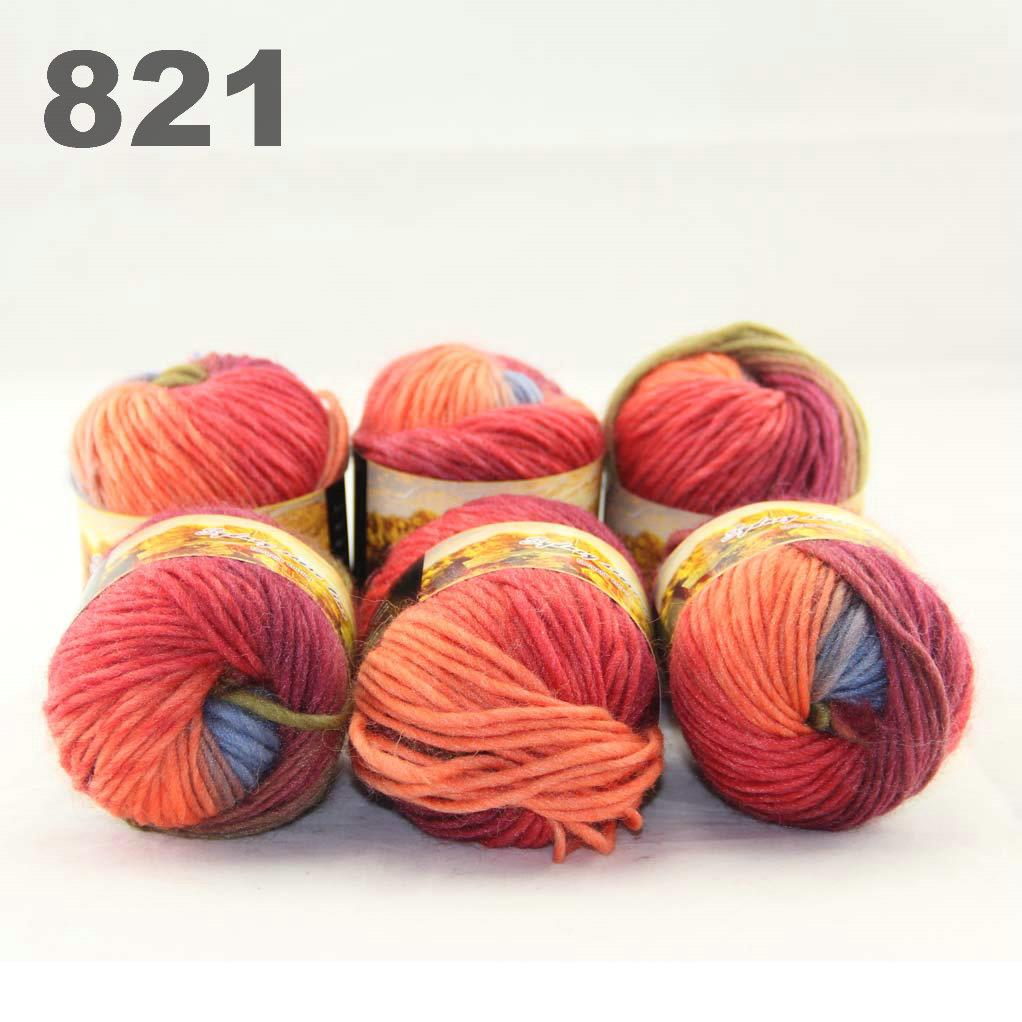 Hand Knitting Yarn Design : Lot of skeinsx gr new chunky hand woven colors knitting