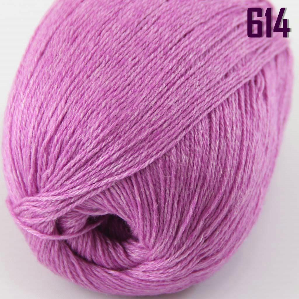 Sale New Lot 6 Skeins x50 Super Fine Pure Cashmere Hand Knitting Yarn 614 Violet