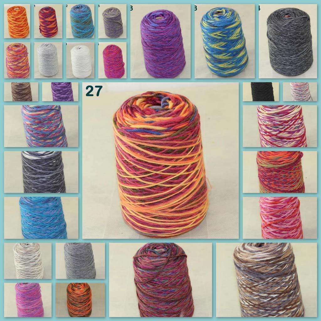 Вязание из нескольких ниток