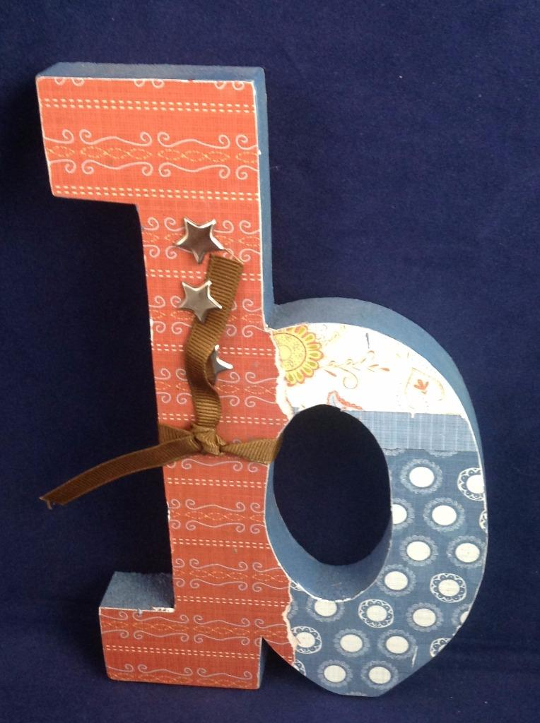 Wooden letters and numbers wall decor art crafts large small 6 7 5 ebay - Wood letter wall decor ...