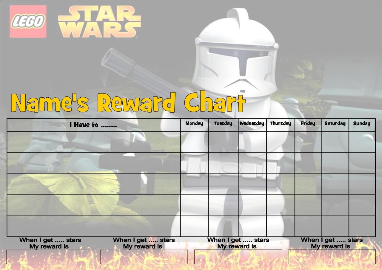 star wars reward chart