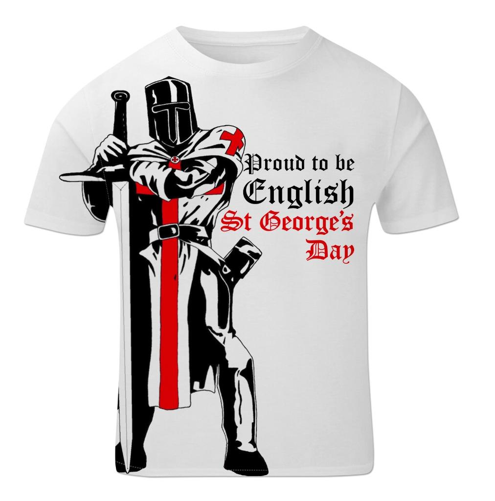 St George S Day Knight Proud To Be English England Flag