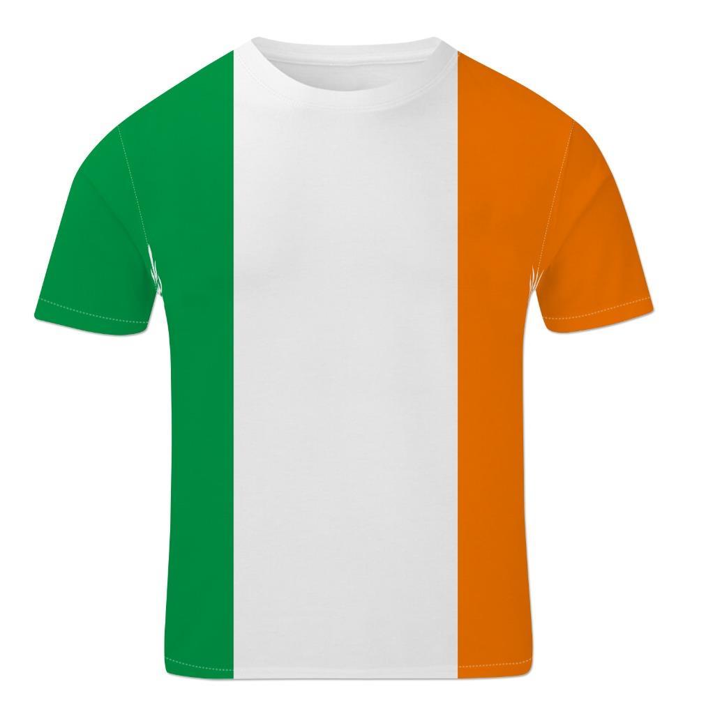 irish tricolour ireland flag st patrick s day patriotic unisex mens