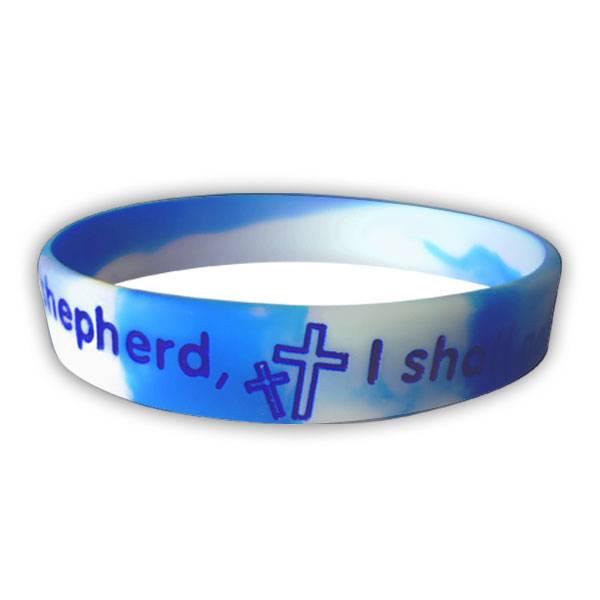 bible christian silicone rubber elasticity wristband wrist