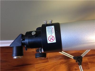 Meade 90mm Refractor Telescope Motorized Telescop Ebay