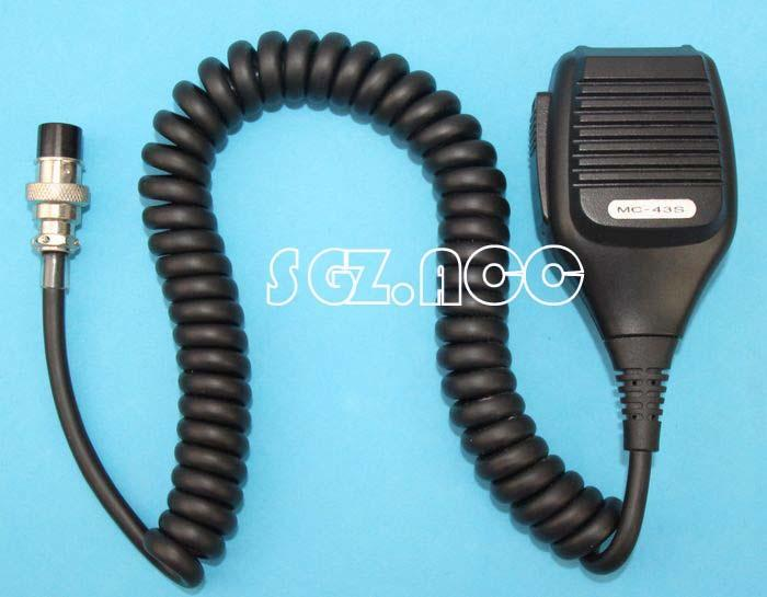 kenwood mc radio communication mc 43s hand held mic microphone ptt for kenwood mobile radio ts 480hx