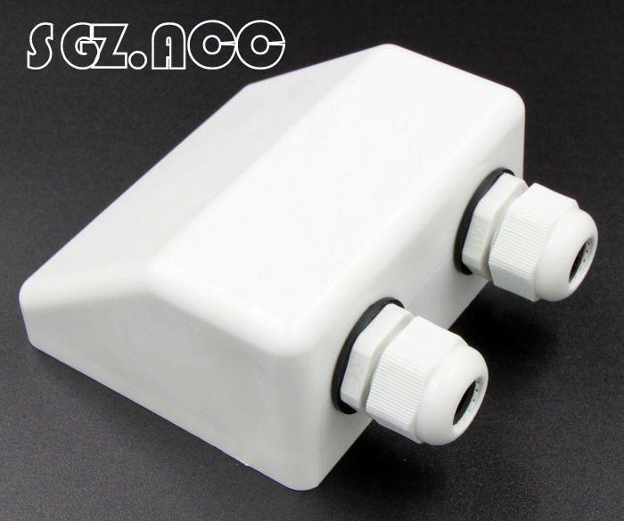 Roof Twin Cable Entry Gland Solar Panel Satellite Aerial