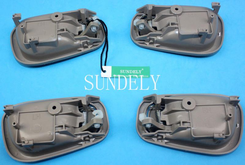 4pcs Beige Inside Door Handle Fit For Toyota Corolla 1998 1999 2000 2001 2002 Ebay