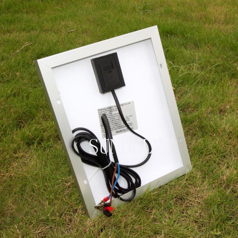 10w 12v solar panel battery charger for motorhome caravan. Black Bedroom Furniture Sets. Home Design Ideas