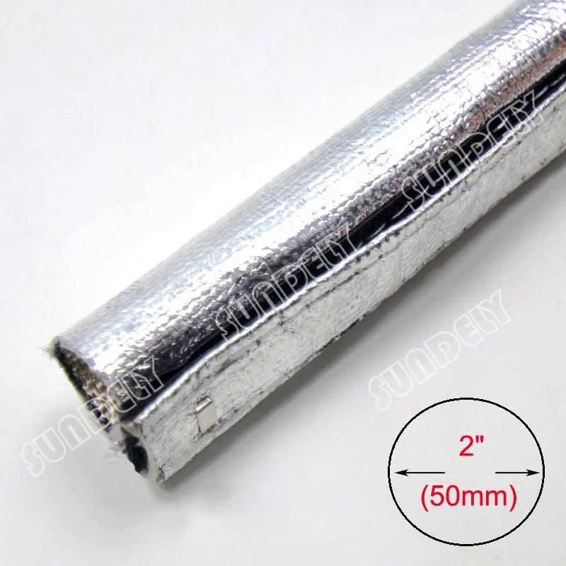 Wire Wrap Leak : Metallic heat shield sleeve insulated wire hose cover wrap