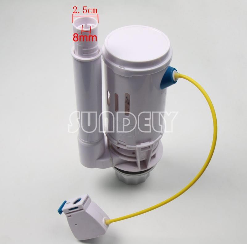 new new toilet push button dual flush cistern syphon