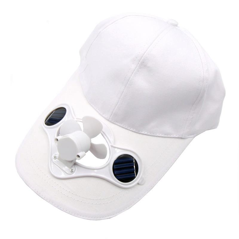 Solar Power Automatic Fan Baseball Hat Cooling Cap Sports